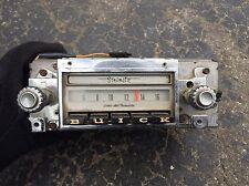 Chevy Vintage Indash Radio Dash buick 7302504 1960s 70s Delco Sonomatic