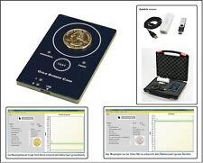 LOOK Goldtester Prüfgerät Goldscreencard + Zubehör Gold & Silber Münzen testen