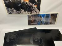 EMPIRE STRIKES BACK STAR WARS 1979 PROMOTIONAL ART PORTFOLIO BY MCQUARRIE +BOARD