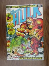 The Incredible Hulk 6 Issue Lot, 169, 183, 189, 192, 201, and 211