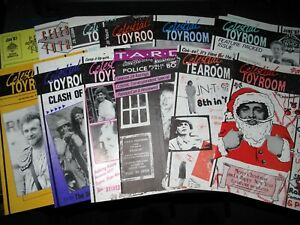 Doctor Who CELESTIAL TOYROOM (DWAS Newsletter) FANZINE / 1987 Issues 1-12 (12)