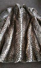 ✅Manteau neuf fourrure imprimé léopard