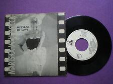 MARISKA VAN KOLCK Message Of Love SPAIN 45 1988