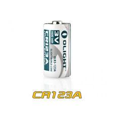Olight CR123A Battery 3V 1600mAh High Performance Battery for Olight Flashlight