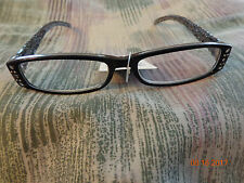 READING GLASSES Sight by Foster Grant Diopter +1.25 lace type sides & Rhinestone