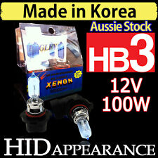 HB3 Globes 100W Bulb Headlights Xenon HID 12V Car Driving Vision White Bluish
