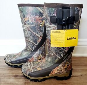 Cabela's Scent-Free Insulated Rubber Boots for Men size US10M, EU43