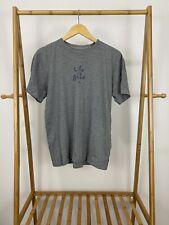 Life Is Good Men's Classic Simple Short Sleeve Gray T-Shirt Size S EUC