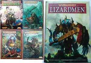 Lizardmen & Lustria Army Books Warhammer various select - OOP