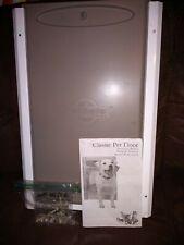 Petsafe Large White Aluminum Pet Door For 1 - 100 Lbs Dogs