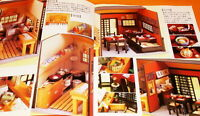 RARE Japanese Style Dollhouse book japan doll set vintage miniature #0304