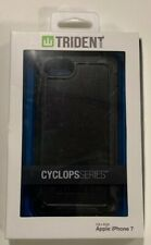 Trident Slim Rugged Cyclops Case for Apple iPhone 8/7 Black New In Box Free Ship
