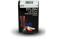 Dylon Shoe,Bag,Belt Colour Dye Leather or Synthetic Dk brown Red, White or Cream