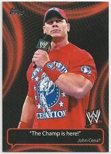 2011 Topps WWE Catchy Phrases 10 Card Insert Set John Cena Triple H The Rock Miz