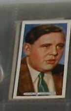 #31 charles laughton (mgm)  - cigarette card