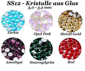 SS12 Kristalle Glas Nageldesign Nail Art Strass Stein Steinchen Profiqualität