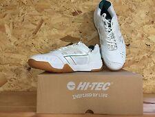 Men's Hi-Tec Court Shoes, White S702 4SYS