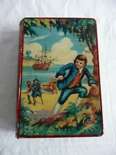 Vintage Chad Valley 'Treasure Island' Book Money Box.