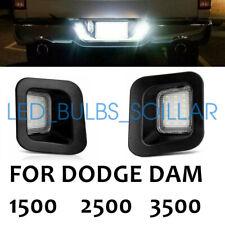 New Listingled License Plate Light Lamps 6000k White For 2010 2018 For Ram 3500