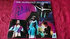 THE MANHATTAN TRANSFER - PASTICHE ( ORANGE VINYL ).     LP.