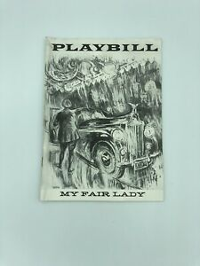 MY FAIR LADY - Sept. 30 1957 - Vol. 1 No. 1 Rare First Edition Playbill Theatre
