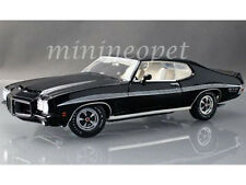 ACME A1801205 1972 72 PONTIAC LEMANS GTO 1/18 DIECAST MODEL CAR BLACK