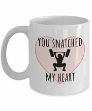 Weight Lifting Valentine Weightlifting Coffee Mug Romantic Gift For Weightlifter