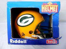 New Vintage 1995 Green Packers NIB Micro Helmet NFL Football Bowl Rare Riddell