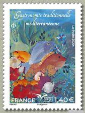 france 2020 Euromed Mediterranean gastronomy BOUILLABAISSE  fish tomatoes 1v mnh
