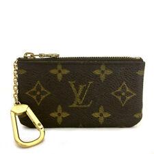 Louis Vuitton Monogram Pochette Cles Wallet Coin Purse /A0071