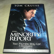 Minority Report Dvd 2-Disc Set Full Screen Tom Cruise Sci Fi Movie