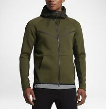 Nike Tech Fleece Men's Printed Windrunner 'Olive' (M) 836422 387