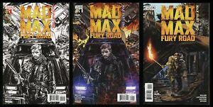 Mad Max Fury Road Comic Set 1-2 + 2nd Print Movie Prequel Immortan Joe Furiosa