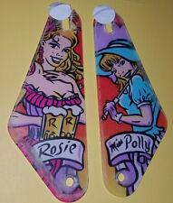 New Cactus Canyon Pinball Machine Sling Shot Plastic Set Rosie & Miss Polly