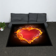 Thermal Flannel Blanket Valentine Themed Sofa Throw TV Blanket 30x60inch 17