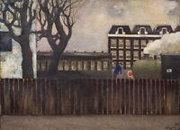 Wim Oepts : The Spoorbaanstraat in Amsterdam, 1930 : Archival Quality Art Print