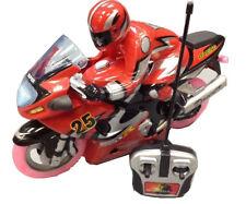 MOTORBIKE RADIO REMOTE CONTROL BIKE FAST SPEED MUSIC & FLASHING WHEEL LIGHTS