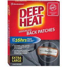 Deep Heat Back Patches Extra Large
