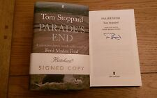 Parade's End Adapted for Television SIGNED Tom Stoppard Hardback 2012 1st/1st