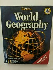 Glencoe World Geography Texas High School Student Edition National Geographic