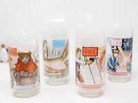 Return of Jedi Star Wars 1983 Burger King Collectible Glasses Complete Sef 4