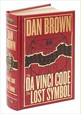 The Da Vinci Code @ The Lost Symbol by Dan Brown ( Hardcover, Leather Bonded )