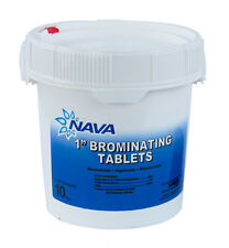 "1"" Inch Swimming Pool & Spa Bromine Sanitizer Tabs Tablets - 10 lbs"