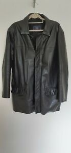 """Casual Club leather jacket by Debenhams pre owned fit chest up to 40"""" CHESTsize"""
