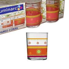 Luminarc Pareo Corail bicchieri da 30 cl, Set da 3 pezzi