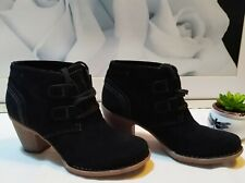 Clarks black Ankle boots size 4.5