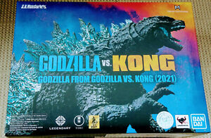 S.H. MonsterArts Godzilla vs Kong 2021 Godzilla Action Figure In Stock Bandai