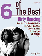 6 Of The Best Dirty Dancing HUNGRY EYES Piano Guitar POP SONGS FABER Music BOOK