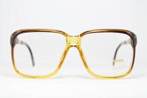 ZEISS 2049-1896 Vintage Brille Eyeglasses Frame Bril Glasögon Square Nerd 80s
