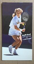 STEFFI GRAF Original Vintage Dunlop Promotional Postcard